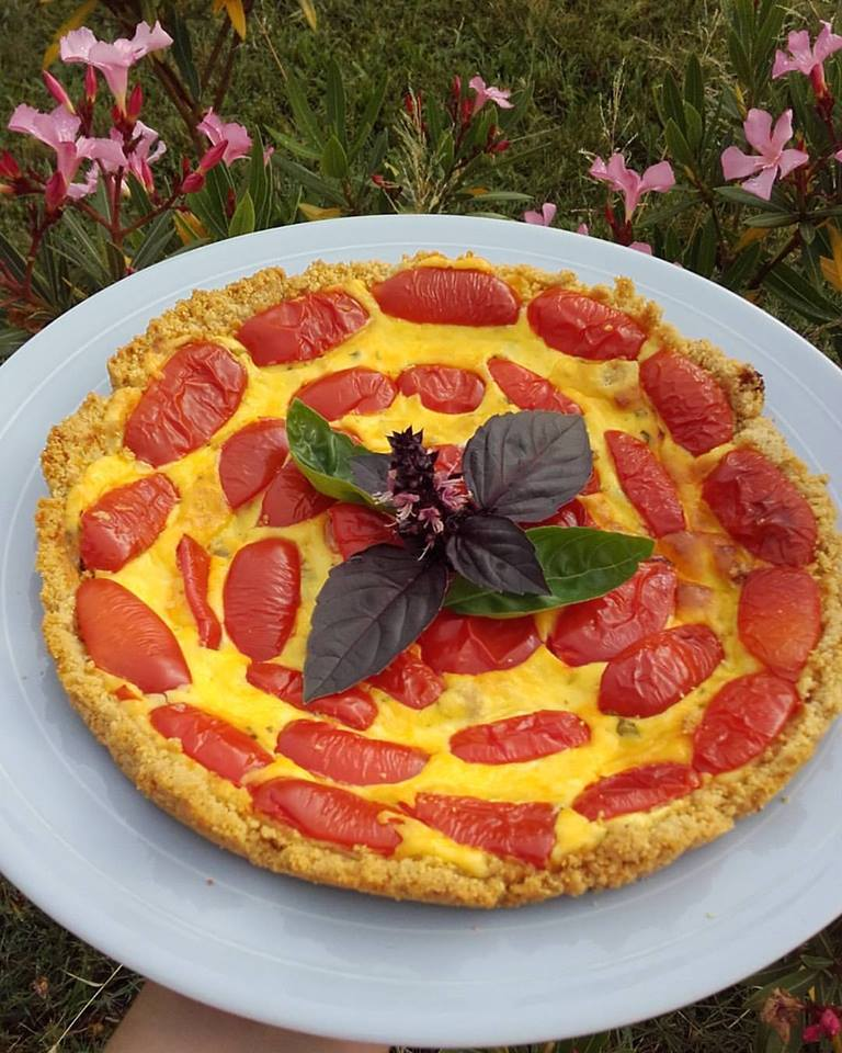 cheesecake salata senza glutine