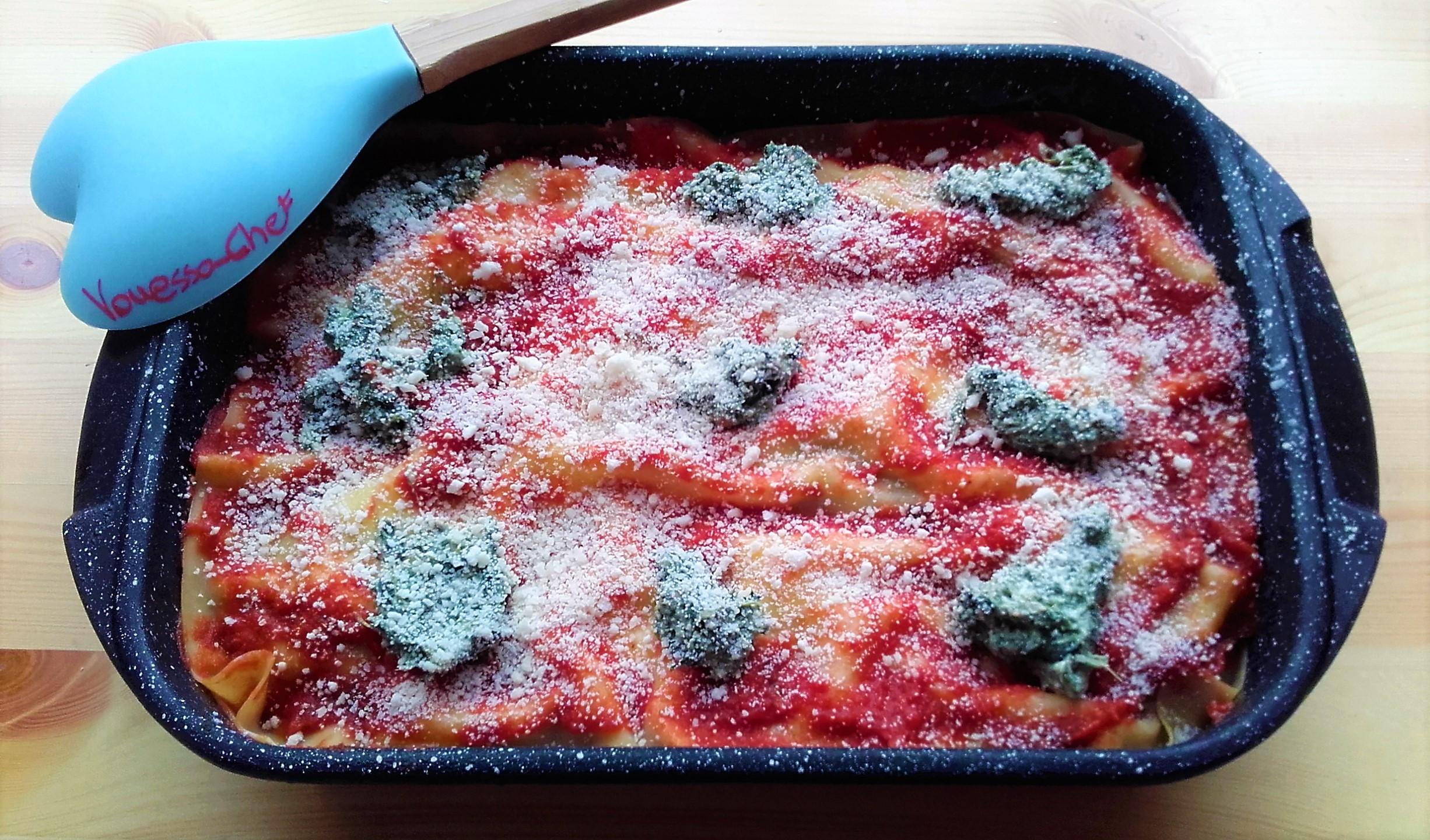 lasagna spinaci e ricotta