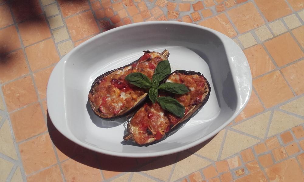 melanzane pomodoro mozzarella