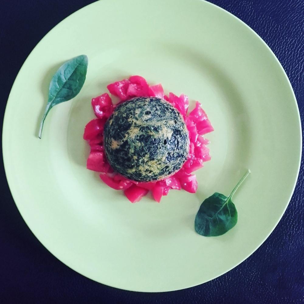 tortino spinaci