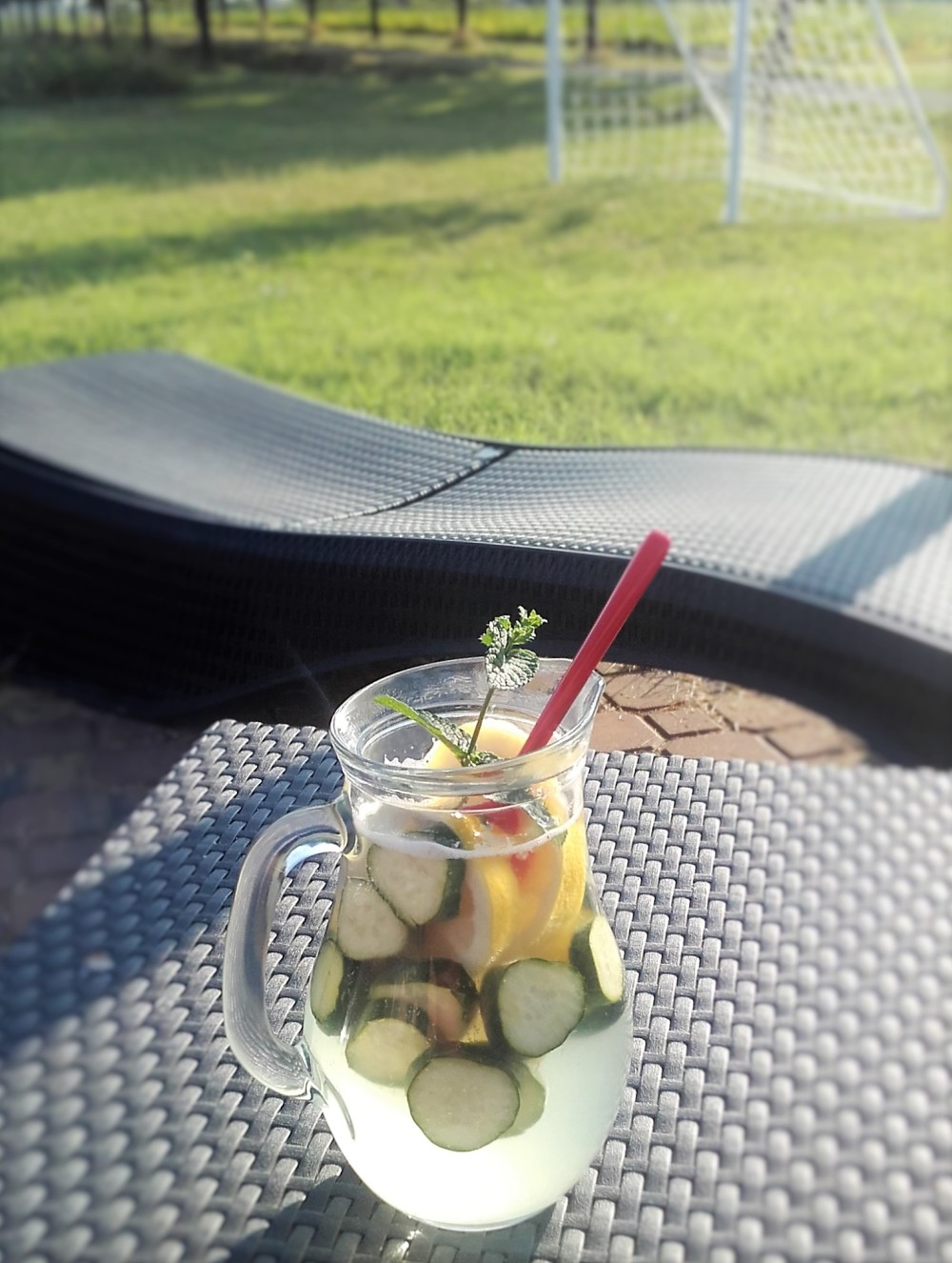 detox cetriolo limone menta zenzero