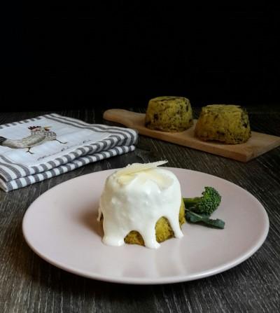 muffin salato broccoli e polent6i