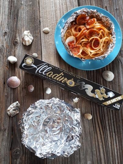 spaghetti pesce alladino