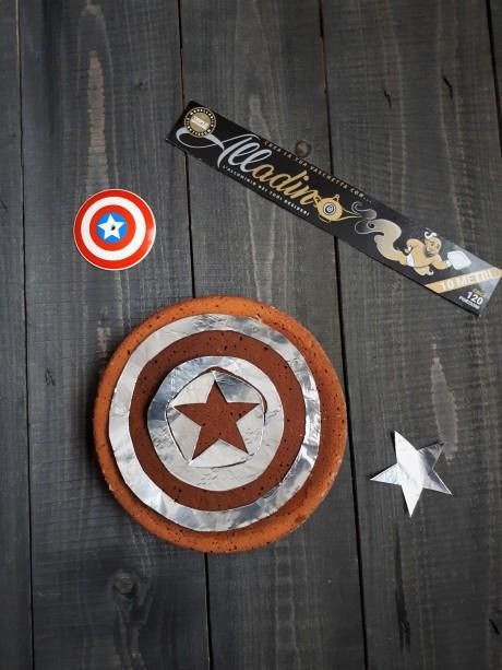 stensil capitan america